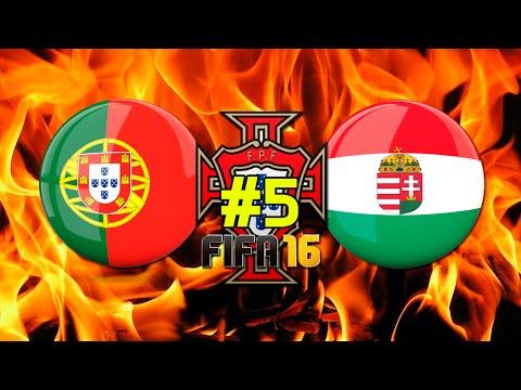 PORTUGAL PREPARAÇÃO EURO 2016 #5 | PORTUGAL vs HUNGRIA