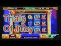 "HOUSE OF FUN Casino Slots Let's Play ""TRIALS OF TROY"" On Your Cell Phone"