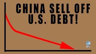 China SELLOFF Most U.S. Debt Since 2013! U.S. Dollar Suffers as Yuan Gains!
