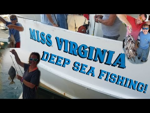 Miss Virginia deep sea fishing