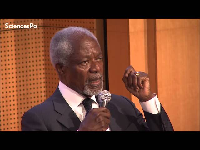 90 Talk With Kofi Annan On The United Nations And Current