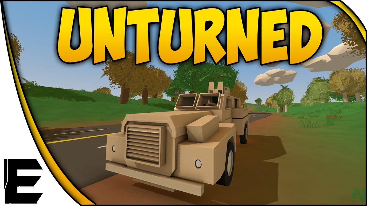 Unturned Showcase Sweet Military Vehicles Youtube