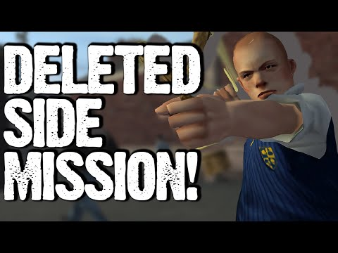 """Bully Scholarship Edition's Deleted Side Mission! (""""Small Offences"""" Beta Analysis) 