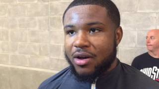 Ohio State RB Mike Weber after Oklahoma win