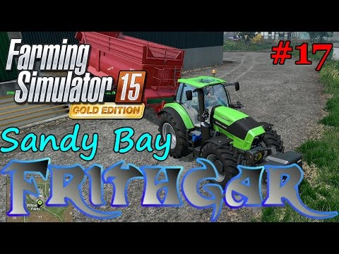 Let's Play FS15 Sandy Bay Redux v3 #17: Feeding The Beef And Pigs!