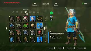 TLoZ- Breath of the Wild #120- Grimmige Gottheit Klinge & Farodra Schuppe