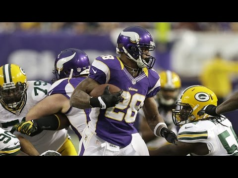 Adrian Peterson goes for Eric Dickerson