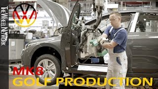 2020 Volkswagen Golf Manufacturing (Generation 8) | Car Production in Germany