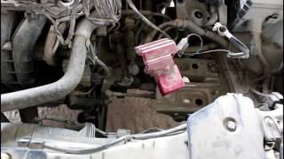 Mitsubishi Lancer X 1,6 2012 года Мицубиси Лансер Замена диска сцепления и выжимного 1 ЧАСТЬ