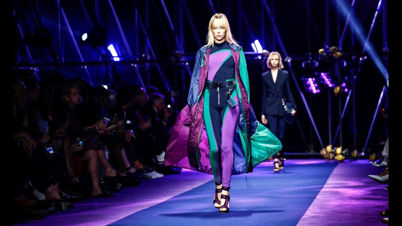 Versace spring summer 2017 full fashion show exclusive for Runway fashion show video