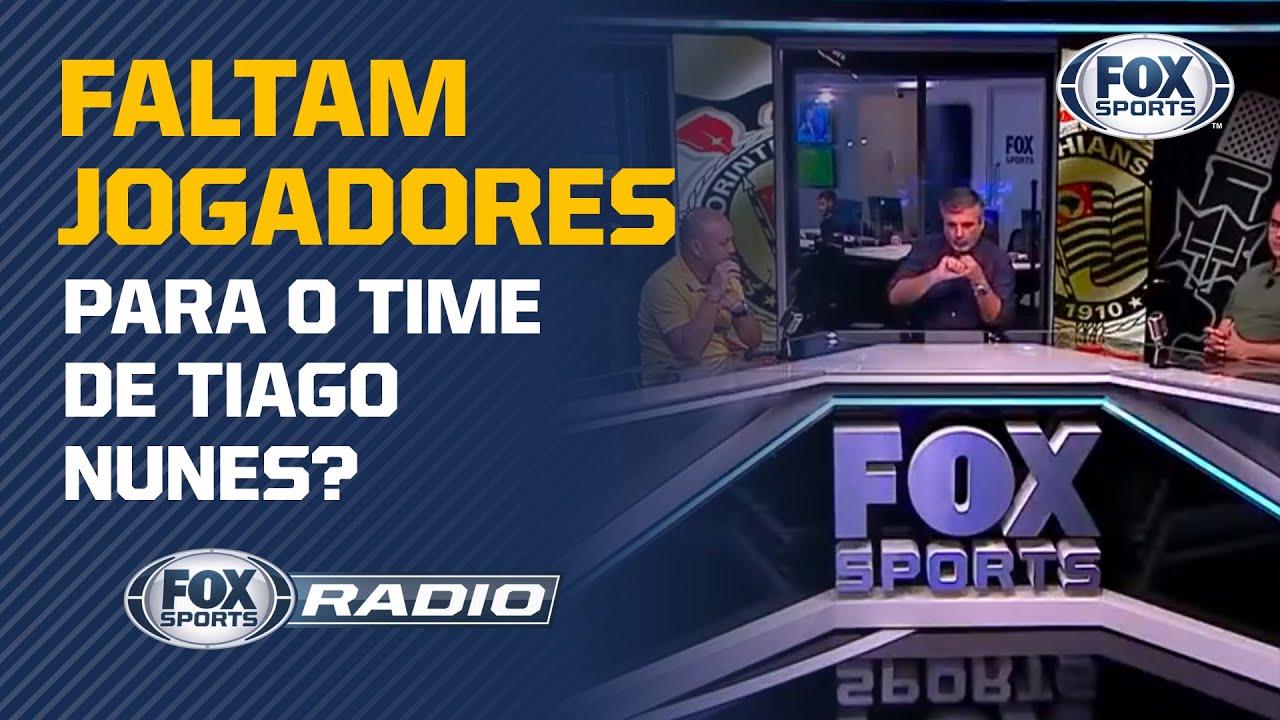 ELENCO DO CORINTHIANS É LIMITADO? Veja debate no 'FOX Sports Rádio'