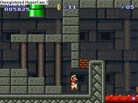 Leinad's 2nd Mario Level - Solution