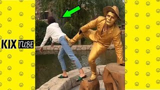 Watch keep laugh EP180 ● The funny moments 2018