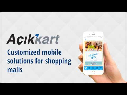 Açık Kart Shopping Center Mobile Loyalty and Campaign Solutions