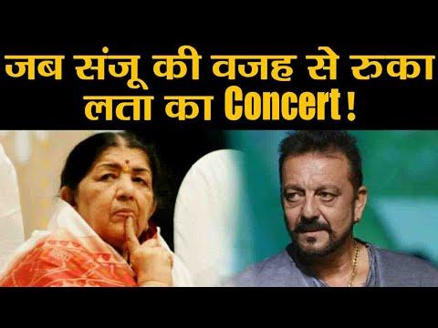 Sanju: When Sanjay Dutt INTERRUPTED Lata Mangeshkar during live concert!   FilmiBeat