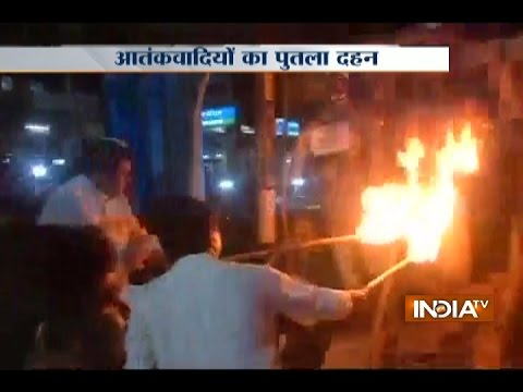 Download Celebration across Country after Surgical Strike, Congress Burnt Effigy of Terrorists