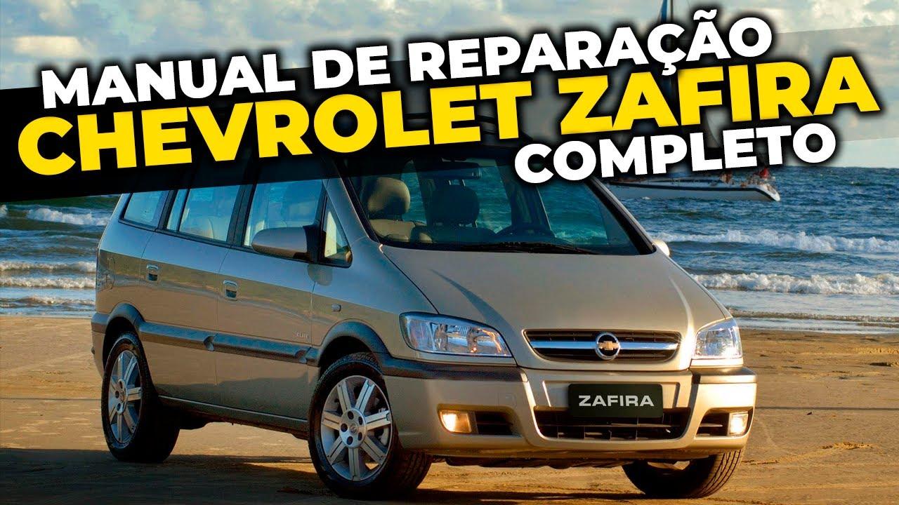 Chevrolet Zafira Manual De Reparacao Completo Gm Opel