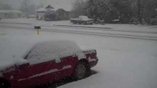 crowell texas snow a madres