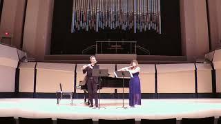 Astor Piazzolla - Tango Etude #4 - Nicole Esposito- Julien Beaudiment