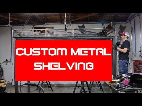 MountainWerks Episode 3: Custom Metal Garage Shelving