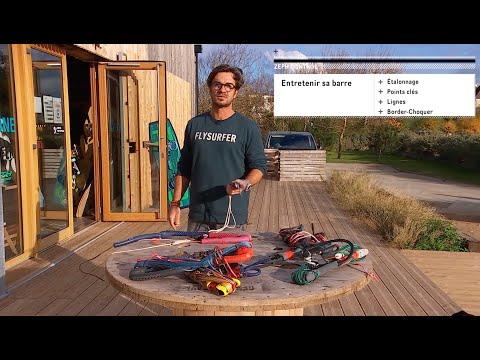Comment entretenir et ajuster sa barre de kitesurf ?