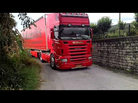SCANIA R 580HD - International Transport Ioannina Greece