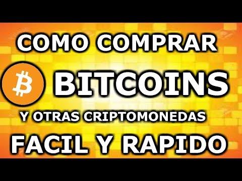 Como Comprar Bitcoins El Metodo Mas Facil , Rapido Y Seguro 2018