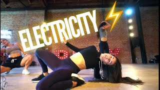 """Electricity""- Rumer Noel Choreo - @DUALIPA @SILKCITY @MARKRONSON @DIPLO Video"