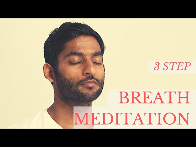 3 Levels of Breath Meditation  | Dhyanse