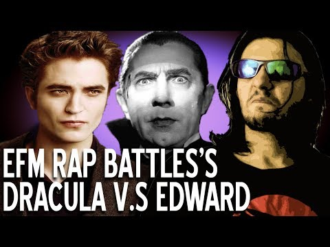 REVIEW TIME! Dracula vs Edward Cullen - EFM Rap Battles