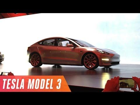 Tesla Model 3 event in under 5 minutes