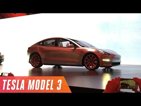 Tesla Model 3 event in under 5 minutes