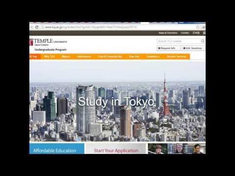 Study in Tokyo