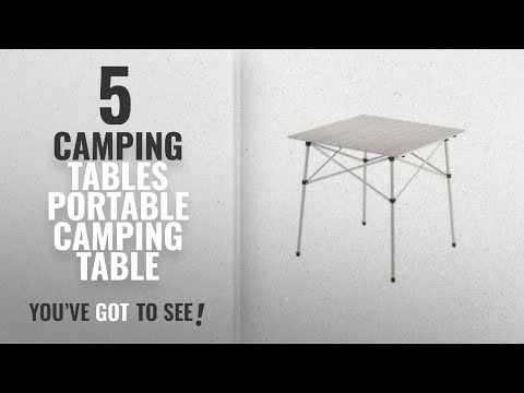 Top 5 Camping Tables Portable Camping Table [2018]: Coleman 2000020279 Compact Folding Table