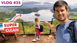 Hiking in Slovenian Forest | Dhruv Rathee Vlogs