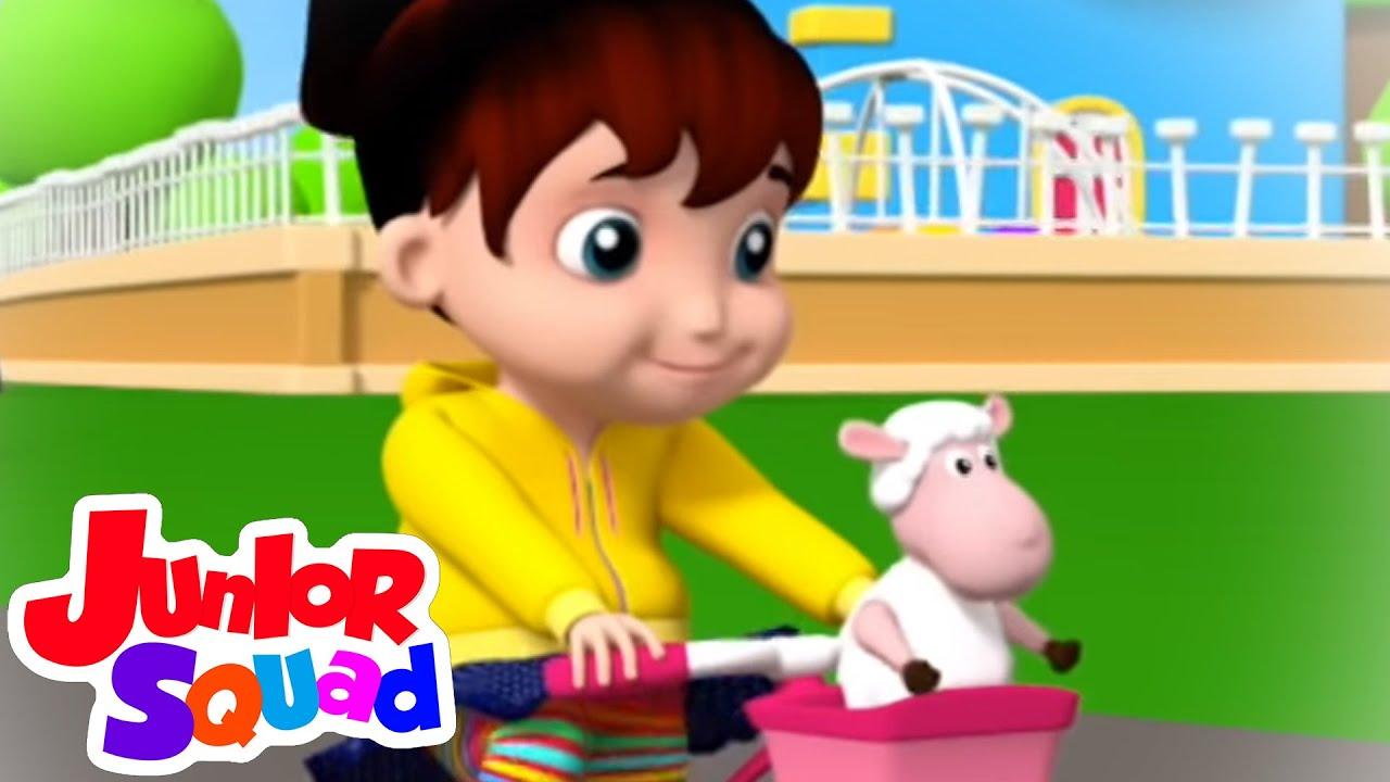 Mary pernah punya domba kecil | Bayi sajak | Lagu anak anak | Junior Squad Indonesia | Pendidikan