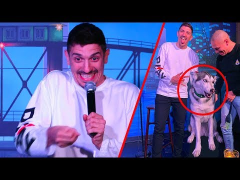 Paralyzed Guy and Service Dog Get These Jokes | Andrew Schulz | Stand Up Comedy
