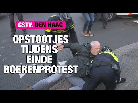 HARDE BOEREN vs POLITIE in Den Haag