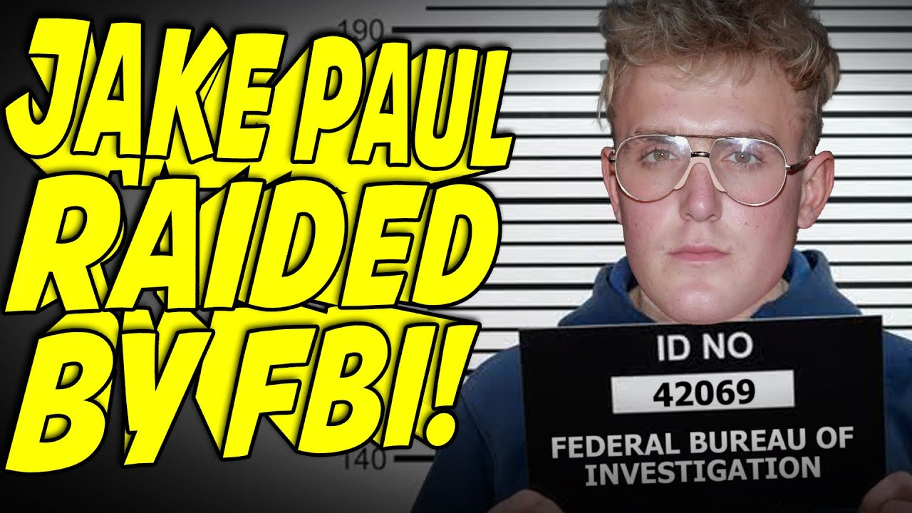 Jake Paul RAIDED By The FBI (Weapons Seized & More!)