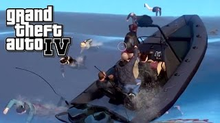 Zombie Boat Party - GTA IV