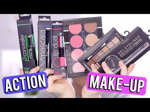 ACTION make-up look ❤ tutorial en mini reviews | Beautygloss