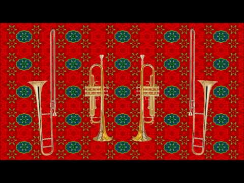 Christmas Music for Brass (Michel Rondeau Brass Quartet)