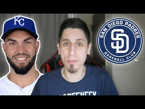 ERIC HOSMER SIGNS WITH THE PADRES! SO MUCH MLB NEWS