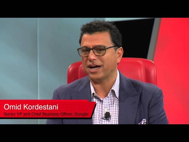 Omid Kordestani Google Full Session (2015 Code Conference
