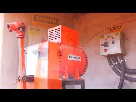 LOTE 213 GERADOR DE ENERGIA BAMBOZZI