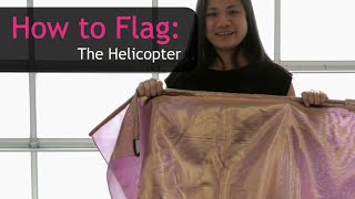 Worship & Praise Flags Teaching How to do The Helicopter CALLED TO FLAG banners ft Claire