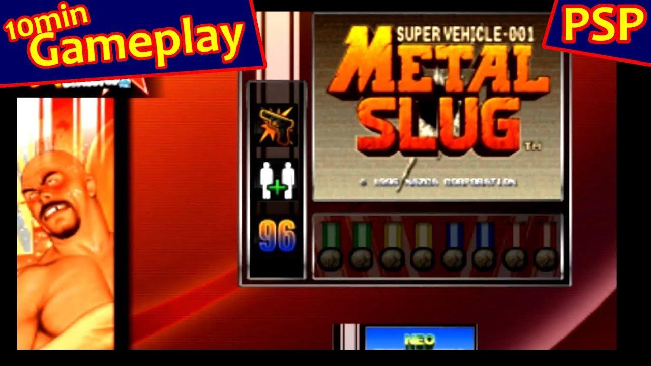 snk arcade classics vol. 1 psp