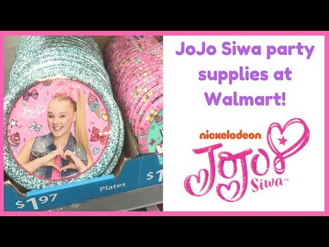 JoJo Siwa | Party Supplies!