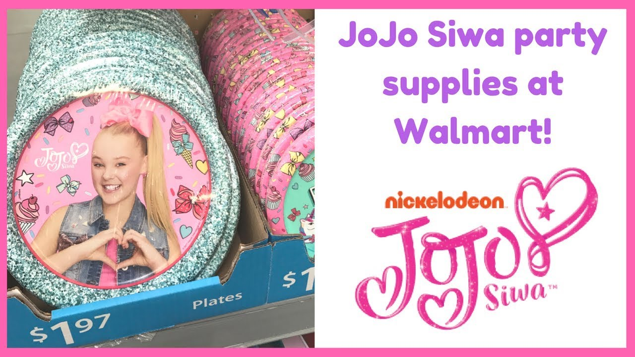 Jojo Siwa Party Supplies Youtube