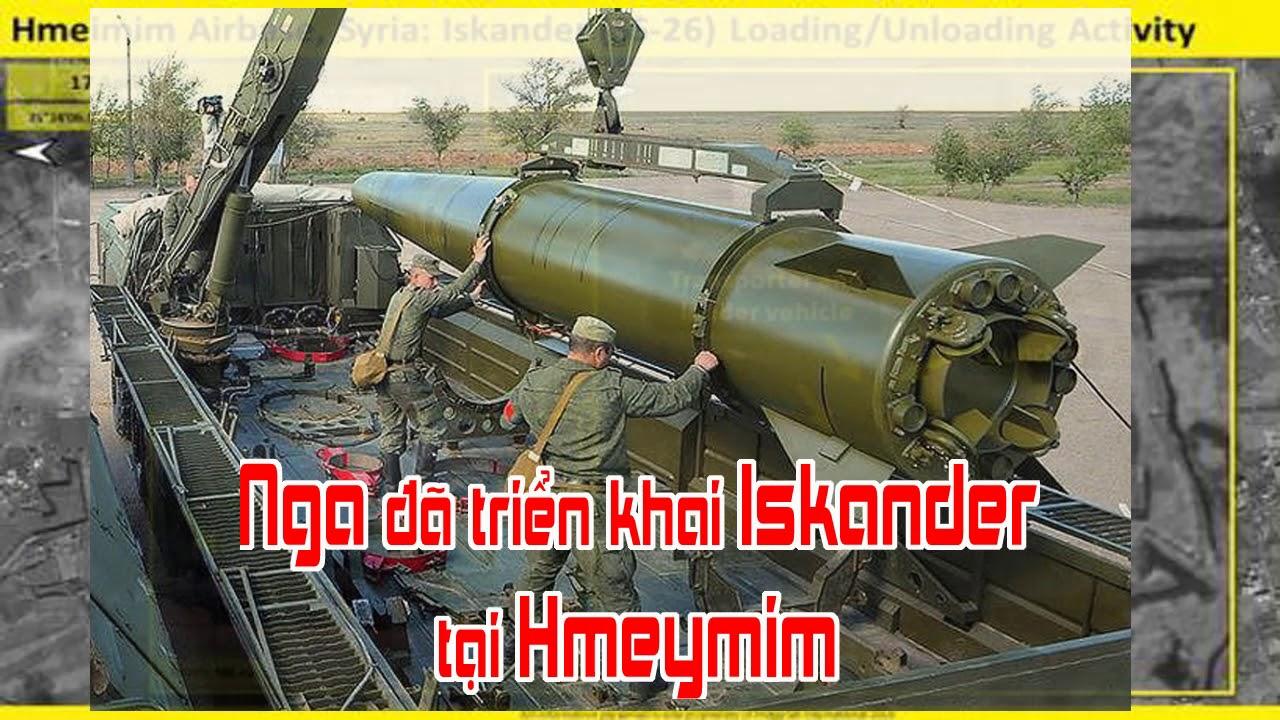 Nga đã triển khai Iskander tại Hmeymim